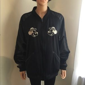 Disney World Tour Vintage Black Large Jacket